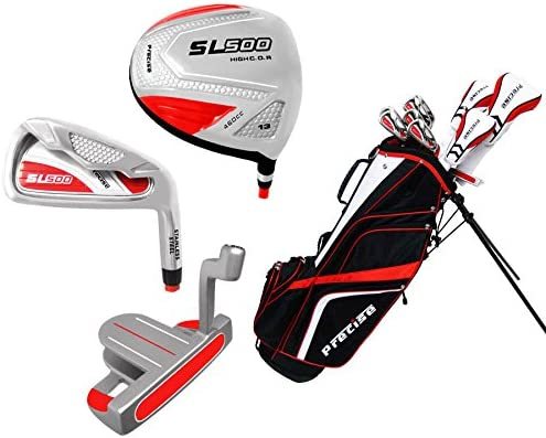 Precise Women s SL500 Complete Set Red White , Graphite Hybrids with Graphite Irons, Ladies, Right Hand