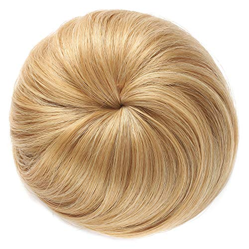 Onedor Synthetic Fiber Hair Extension Chignon Donut Bun Wig Hairpiece (27/613)