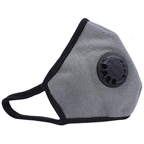 I Can Breathe Mask - Muryobao Anti Pollution Mask Military Grade N99 Respirator Mask with Valve Replacement Filter Washable Cotton Anti Dust Mouth Mask for Men Women Green