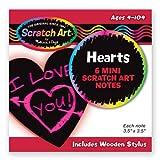 Melissa & Doug Heart-Shaped Mini Scratch Art Notes