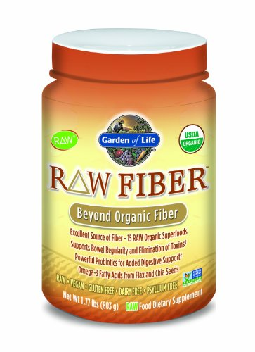 Jardin de la vie des fibres organiques brutes, 1,77 livres