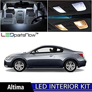 Ledpartsnow 2007 2013 Nissan Altima Coupe 2 Door Led Interior Lights Accessories