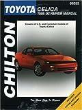 Toyota Celica, 1986-93, Chilton Automotive Editorial Staff, 0801984130