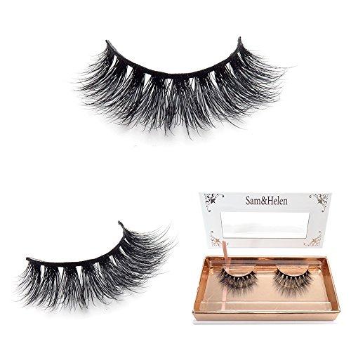 4f744b62eff 100% Handmade 3D Mink False Eyelashes Natural Long Siberian Mink Fur Fake  Eyelashes