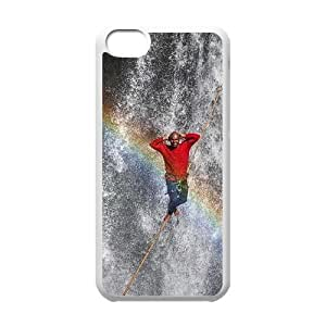 DIY Rainbow Phone Case Fit To iPhone 5C , Good Choice For Your Phone