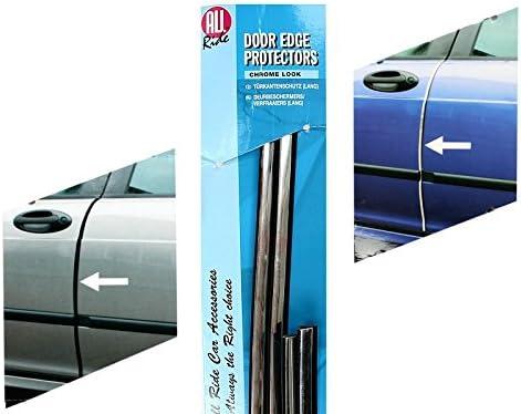 All Ride 91759 Barrette de Protection Porti/ère Chrome 2 x 670 mm 2 x 87 mm 4 Pi/èces