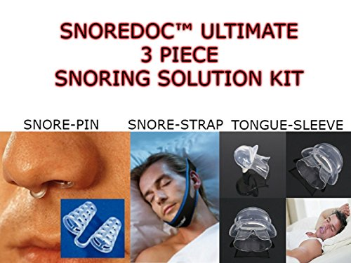 Snoredoc 3 Piece Snoring Solution Kit With Travel Case Buy Online In Cayman Islands Snoredoc Products In Cayman Islands See Prices Reviews And Free Delivery Over Ci 60 Desertcart
