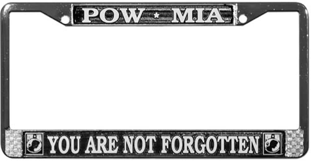 MADE IN THE USA! POW MIA HIGH QUALITY METAL LICENSE PLATE