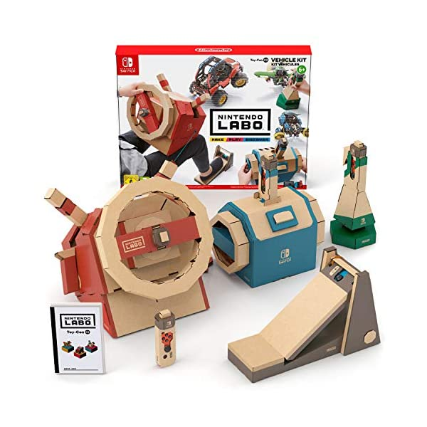 Nintendo Labo: Vehicle Kit (Nintendo Switch) 1