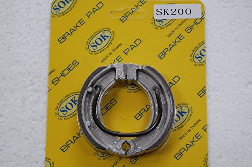 FRONT BRAKE SHOES+SPRINGS YAMAHA PW 50 Y-Zinger Mini 1984-2012 PW50 PW50E (SK200WS)