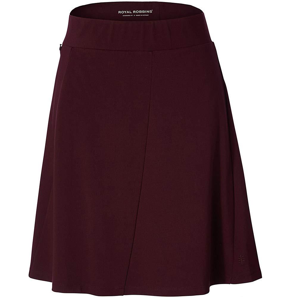 Royal Robbins Womens Geneva Ponte Skirt (M - Malbec) by Royal Robbins