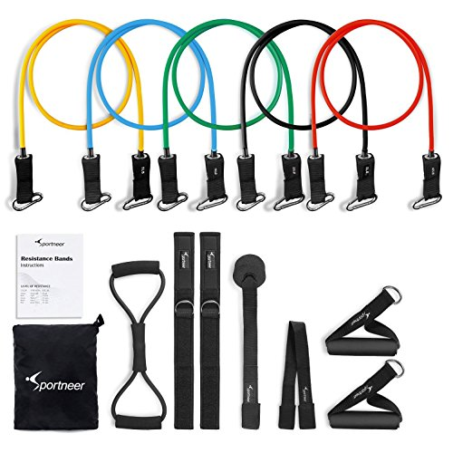 Resistance Bands Sportneer Exercise Band Set, for Home Gym W