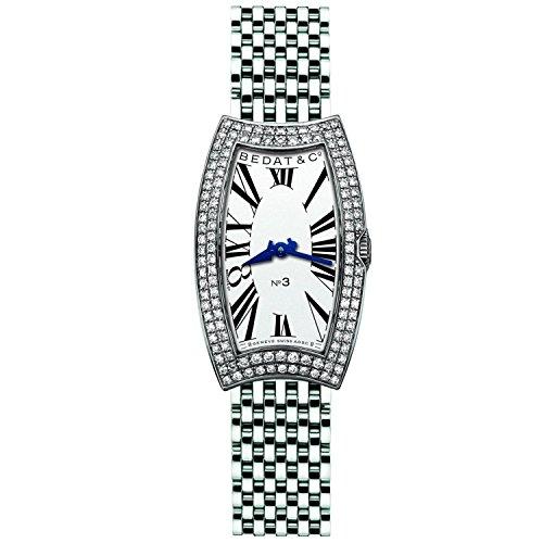 Bedat & Co. Women's 384.031.600 No.3 Diamond Bracelet Watch (Bedat Diamond Watch)