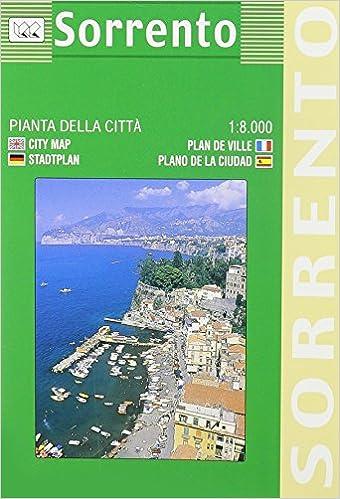 Sorrento City Plan English Spanish French Italian And