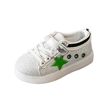 Laufschuhe Turnschuhe Sportschuhe Gre Glitter 1 Paar High Top Gummi Sneaker