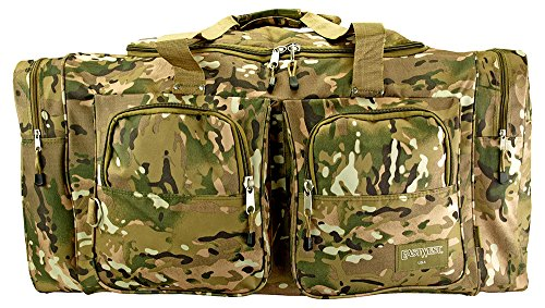 Camping Duffle Bag Large - Multicam by EastWest