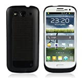KHOMO External Portable Battery Case New Samsung Galaxy S3 III -AT&T, T-Mobile, Sprint, Verizon