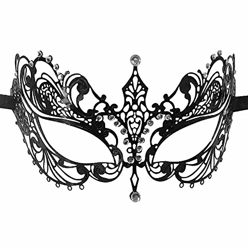 Crystal Metal Masquerade Eye Mask (Metal Eye Patch)