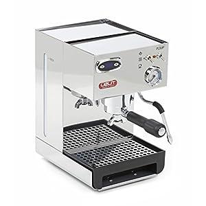 Lelit Anna PL41TEM Macchina Espresso Semiprofessionale ideale per Caffè Espresso, Cappuccino e Cialde Carta - Regolatore di Temperatura caffè con PID - Carrozzeria in Acciaio Inox