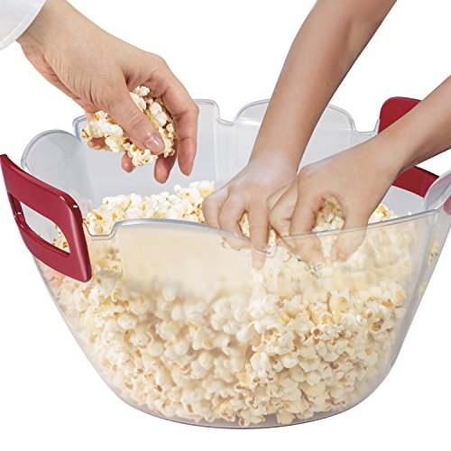 Hamilton Beach 73310 Party Popper Popcorn Maker, Red by Hamilton Beach (Image #1)
