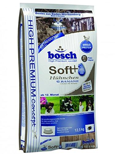 bosch 50700125 Hundefutter Soft Hühnchen und Banane, 12.5 kg