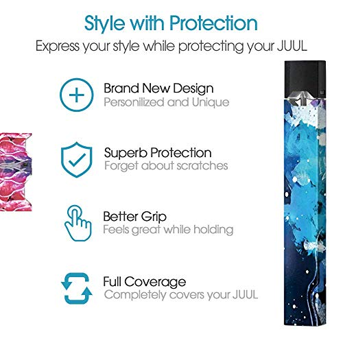 JUUL Skin | JUUL Decal | JUUL Sticker | JUUL Wrap (White - Import It All