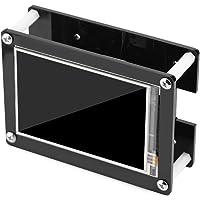 GLOGLOW 1080P IPS 60fps 3,5 Pulgadas HDMI Visualización LCD para Raspberry Pieza + Negro Funda Acrílica