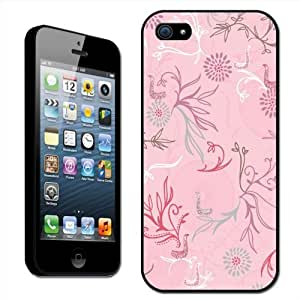 Fancy A Snuggle - Carcasa rígida para iPhone 5, diseño floral, color rosa