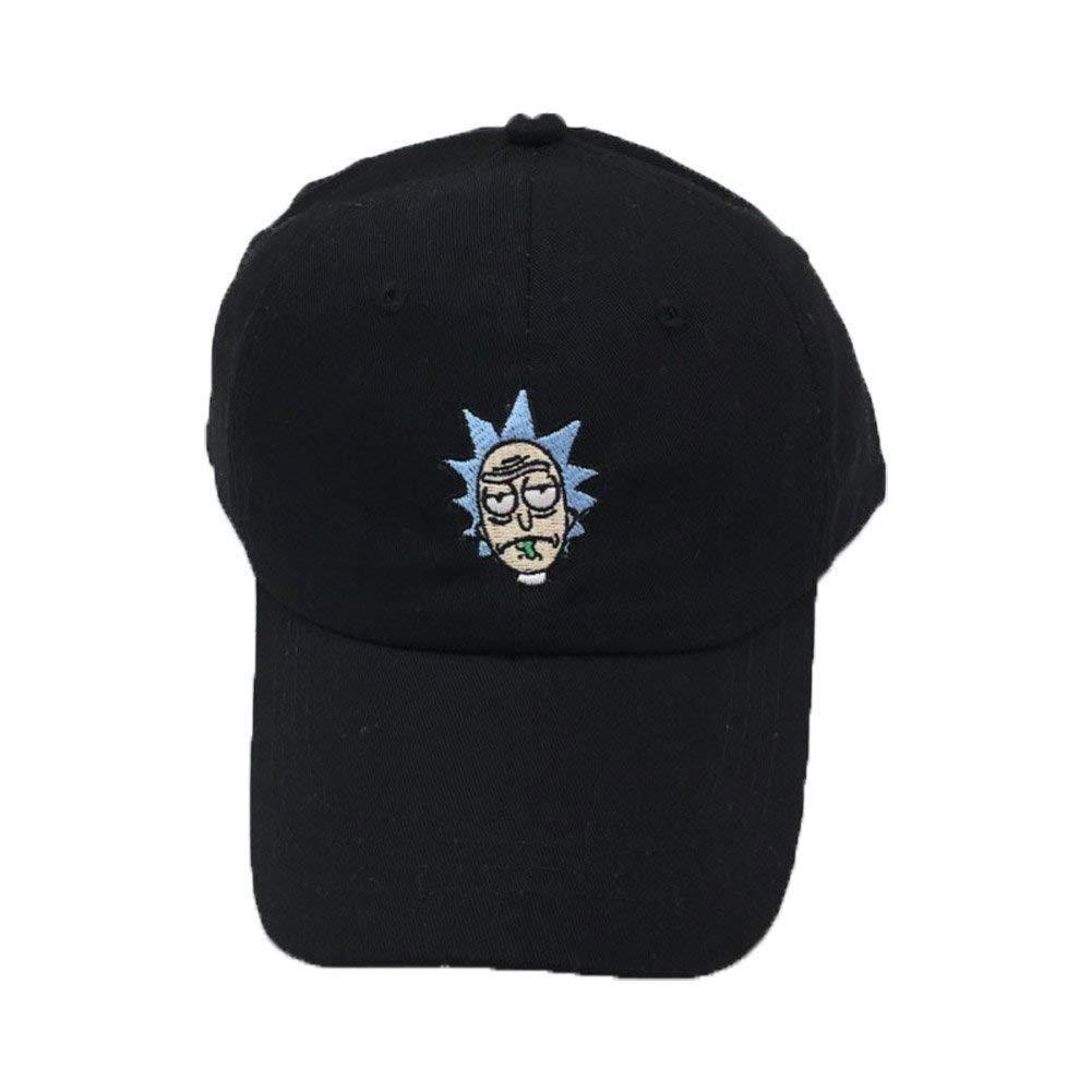 Saoye Fashion Rick Gorra De Béisbol Cosplay Adulto Bordado Sombrero para Hombre Fácil De Dibu: Amazon.es: Ropa y accesorios
