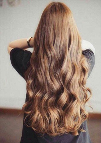 Amazon Pinkzio Curly Wavy Clip In Hair Extension Long Thick