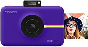 Polaroid Snap Touch Portable Instant Print Digital Camera with LCD Touchscreen Display (Purple)