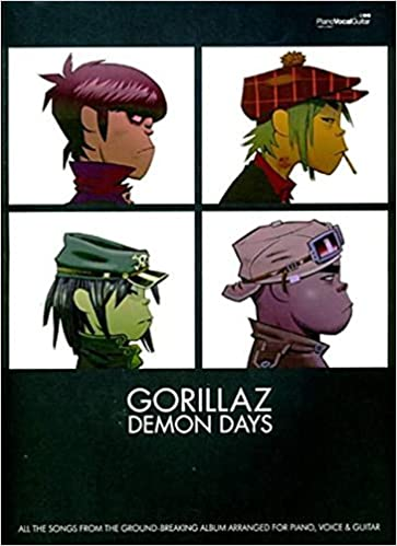 Amazon.com: Gorillaz -- Demon Days: Piano/Vocal/Chords (Faber ...