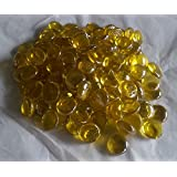 Glass Pebbles Yellow 2cm...500g (approx115)