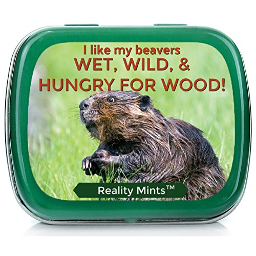 - I Like Beavers Mints for Friends Easter Gifts for Adult Naughty Stocking Stuffers Best Friend Novelty Gifts for Men Peppermint Breath Mints I Love Beaver Gag Gifts Weird White Elephant IDE