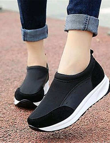 uk6 eu39 mujer Plataforma cn39 uk6 ZQ us8 uk4 Negro Casual Mocasines black cn36 us6 eu39 Rojo eu36 fuchsia us8 Creepers cn39 Zapatos Exterior black de Tela qtqwHO