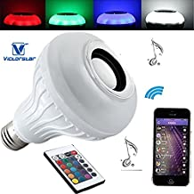 VICTORSTAR@ LED Music Bulb / LED RGB+W Bulb E27 base 6W with Bluetooth Speaker 3W+24Key Remote Controller-433905