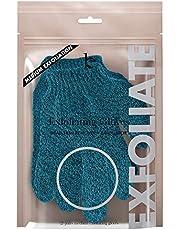 Exfoliating Bath Gloves for Shower - Medium Exfoliation, Body Scrub Shower Scrubber, Shower Exfoliating Gloves for Women & Men, Loofah Shower Glove