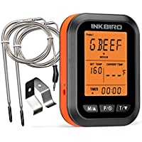 Inkbird ICT-2P LCD-Display BBQ Thermometer with 2 Probes