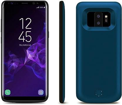 S9 Plus 7000/mAh magn/étique externe Power Bank Housse chargeur portable de protection /étui de chargement pour Samsung Galaxy S9//S9/ Idealforce Samsung Galaxy S9//S9/Plus chargeur de batterie Housse