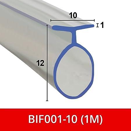 blanc HNNHOME/® Joint de douche souple pour portes pliantes