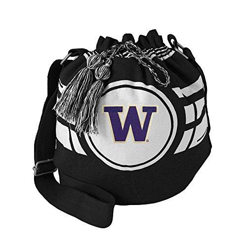 NCAA Washington Huskies Ripple Drawstring Bucket Bag