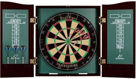 EastPoint Sports Derbyshire Dartboard Cabinet Set