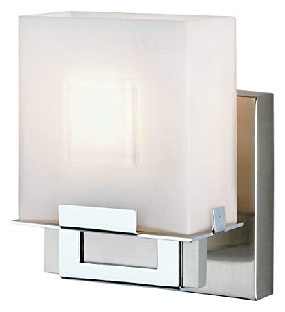 Forecast Lighting FNV Square Light Ada Compliant Wall Sconce - Square bathroom sconce