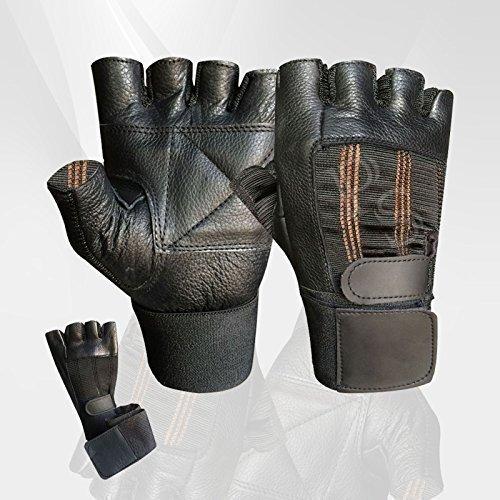 grande varietà Scoprire stile moderno Prime-Guanti in pelle per sollevamento pesi, powerlifting ...