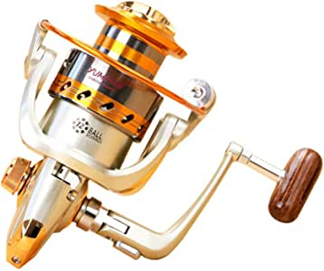 OVEA Carrete De Pesca Spinning EF 1000-7000 Series 12BB Sturdy ...