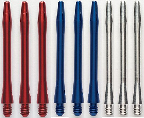 3 Sets of Winmau Aluminum Dart Shafts