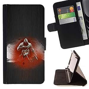 Momo Phone Case / Flip Funda de Cuero Case Cover - Assassin;;;;;;;; - LG Nexus 5 D820 D821