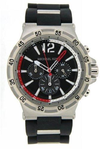 Michael Kors Melbourne Chronograph Men's Watch Color: Black