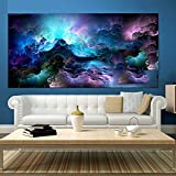 5D DIY Diamond Painting by Number Kits Colorful Abstract Cloud Full Drill Crystal Rhinestone Diamond Embroidery Pictures…