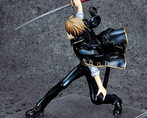 Allegro Huyer Movie Figure 15CM MegaHouse G.E.M. Series Gintama Sougo Okita Douran 1/8 Action Figure Collectible Model Toy Brinquedos ()